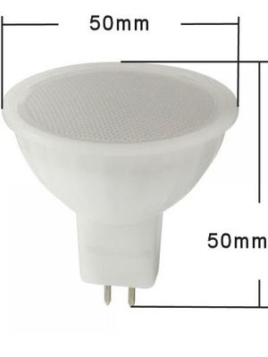LED-GU5.3, 11-13Volt, 5.0Watt, 120°, 450Lumen=45Watt, warmweiss