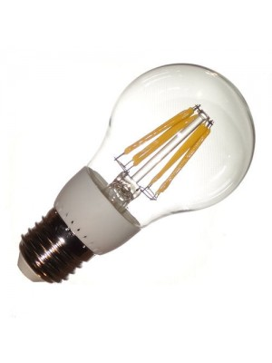 LED-E27, 230V, 8.2Watt, 800Lumen=60Watt, filament, warmweiss